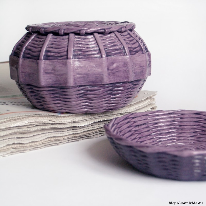 recycled paper basket BluReco Ff (700x700, 255Kb)