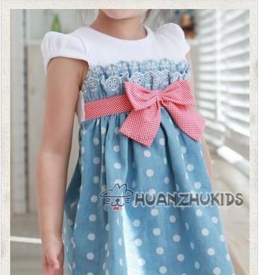 Платье для девочки из шитья