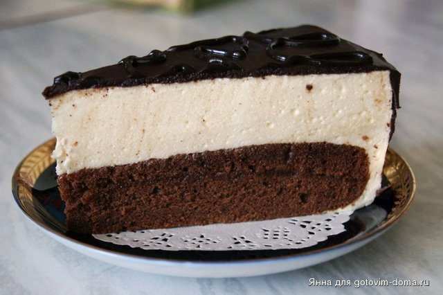 Торт пташине молоко фото рецепт