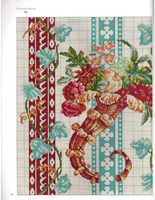 Схемы старинной вышивки 64