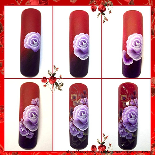Как делать китайскую роспись на ногтях пошагово для начинающих
