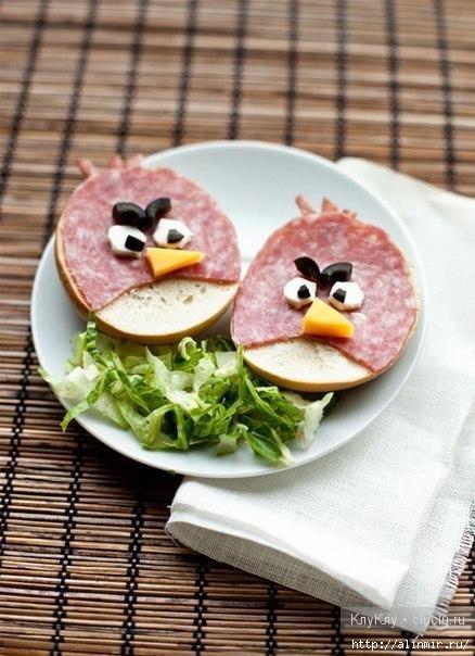 бутерброды злобные птенчики (438x604, 167Kb)