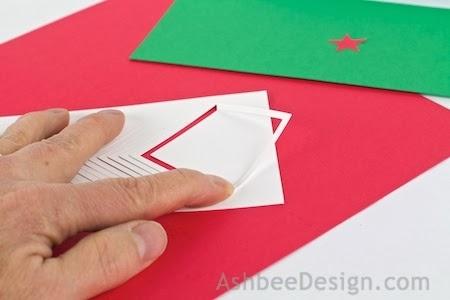 Новогодние елочки из картона. Открытка и силуэтная елочка (4) (450x300, 57Kb)