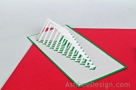 Новогодние елочки из картона. Открытка и силуэтная елочка (12) (450x300, 59Kb)