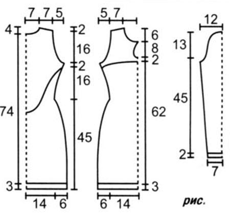 Выкройки для классических платьев