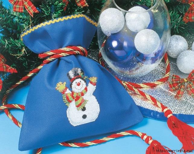 Рождественская вышивка. Схемы (2) (643x511, 317Kb)