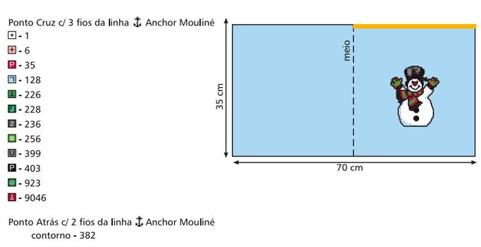 Рождественская вышивка. Схемы (2) (700x360, 52Kb)