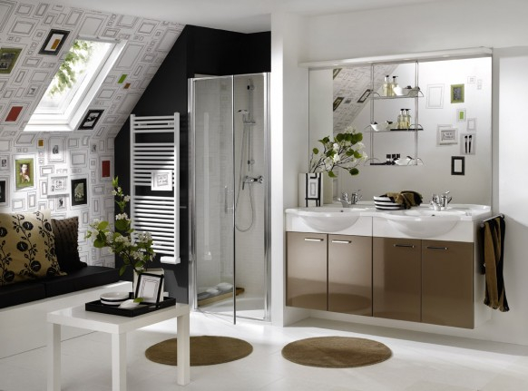 красивый дизайн ванной комнаты 1 (582x431, 159Kb)