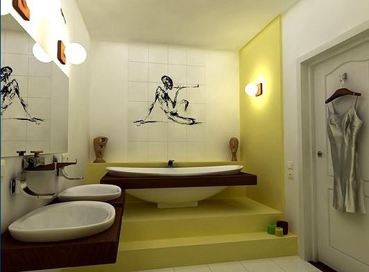 красивый дизайн ванной комнаты 4 (532x392, 135Kb)