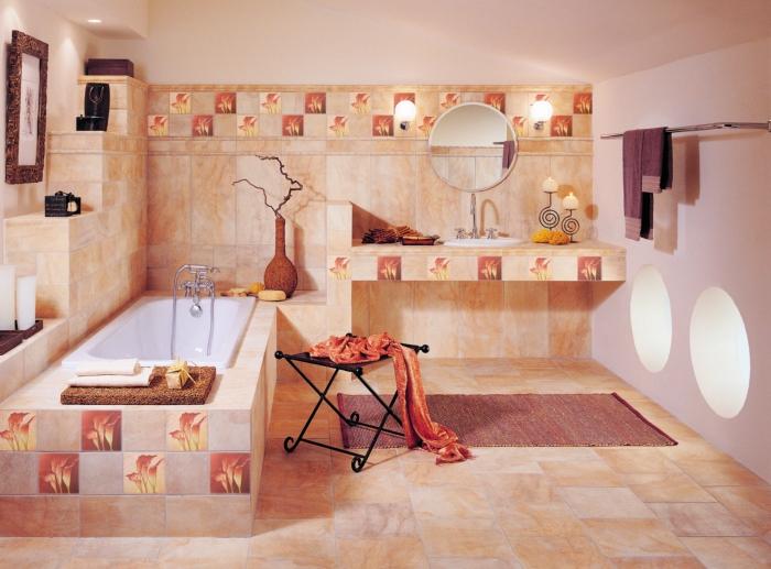 красивый дизайн ванной комнаты 15 (700x517, 397Kb)