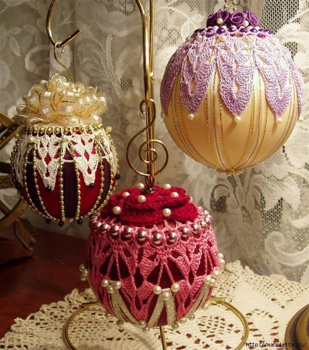 Королевские елочные шары. Вязание крючком (5) (617x700, 398Kb)