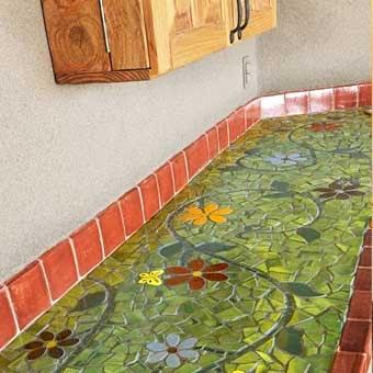 Мозаика для кухни своими руками