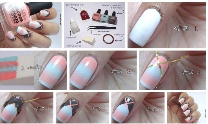Ногти как делать что зачем