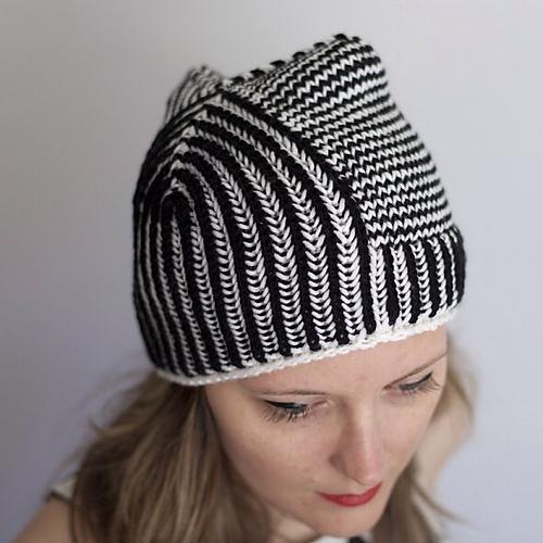 """Модная шапка """"бини"""" и шарф из"""