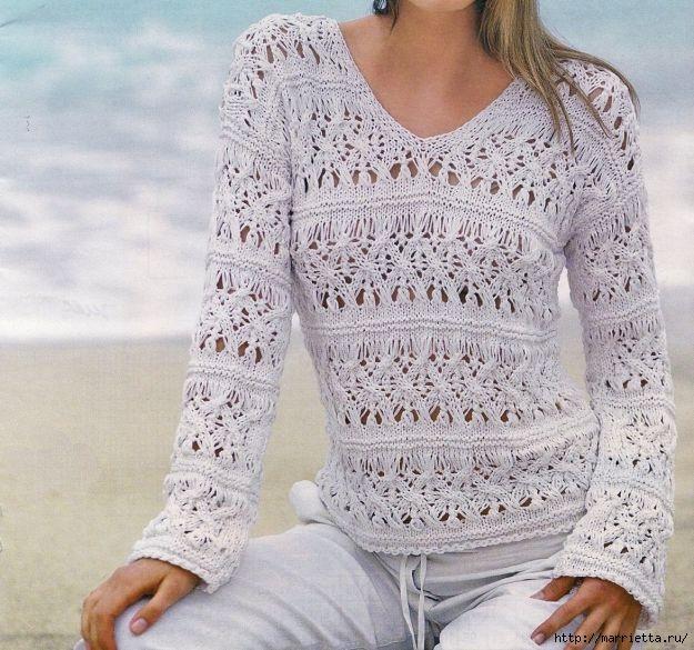 Вязание спицами. модели и