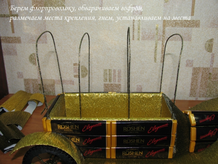 РЕТРО АВТОМОБИЛИ из шоколадных конфет (10) (700x525, 287Kb)