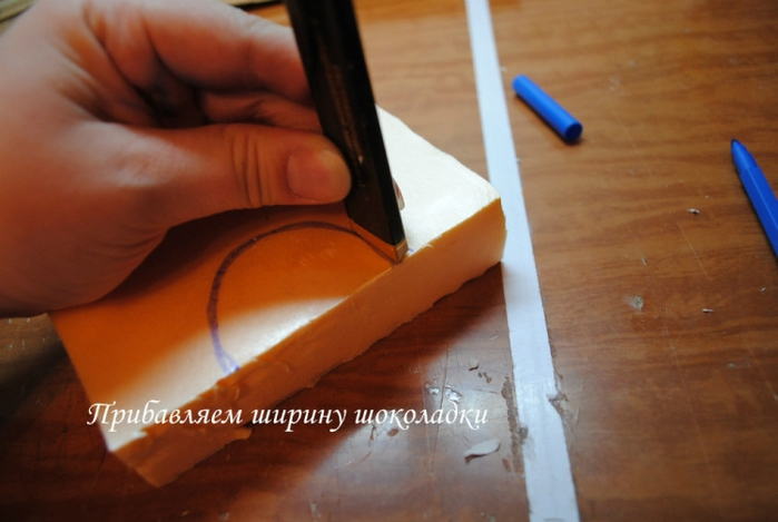 РЕТРО АВТОМОБИЛИ из шоколадных конфет (41) (700x469, 184Kb)
