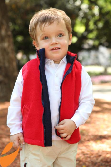 Шьем теплый жилет для мальчика. Выкройка в натуральную величину и мастер-класс (4) (466x700, 481Kb)