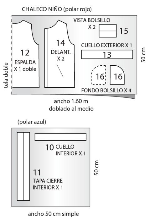 Шьем теплый жилет для мальчика. Выкройка в натуральную величину и мастер-класс (14) (479x700, 86Kb)