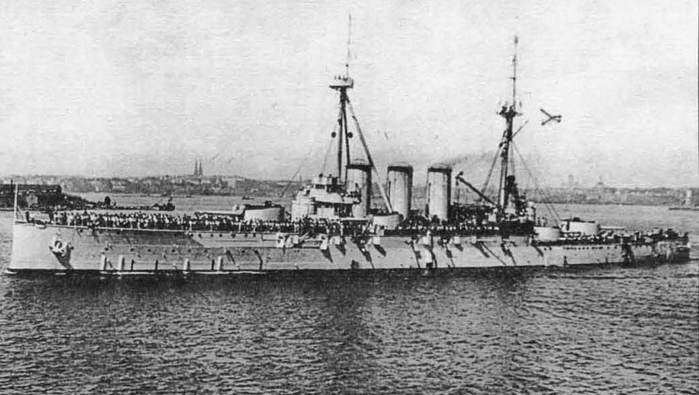 04 броненосный крейсер рюрик (700x395, 45Kb)