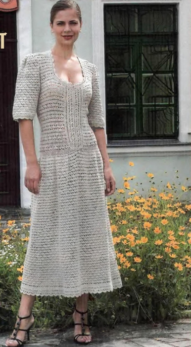 Вязаной Юбки Из Льна