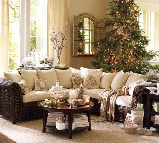 Идеи по украшению дома к новому году фото