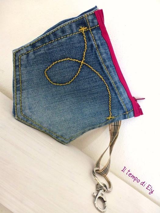 Аксессуары и украшения из старых джинсов. Мастер-классы (17) (525x700, 244Kb)