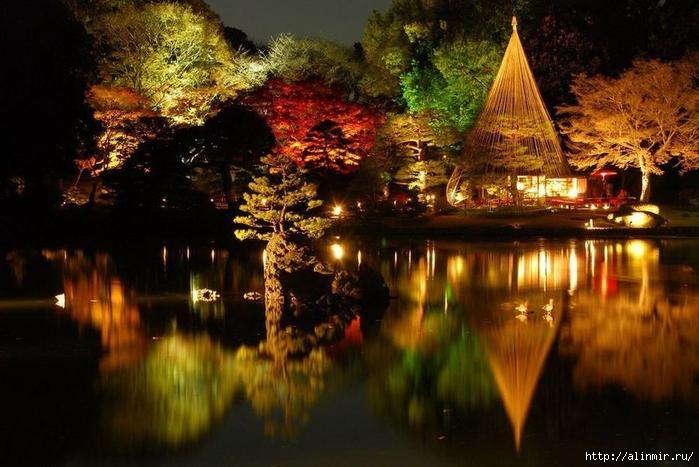 Сад Рикугиэн (яп. 六義園 Рикугиэн) (700x467, 259Kb)
