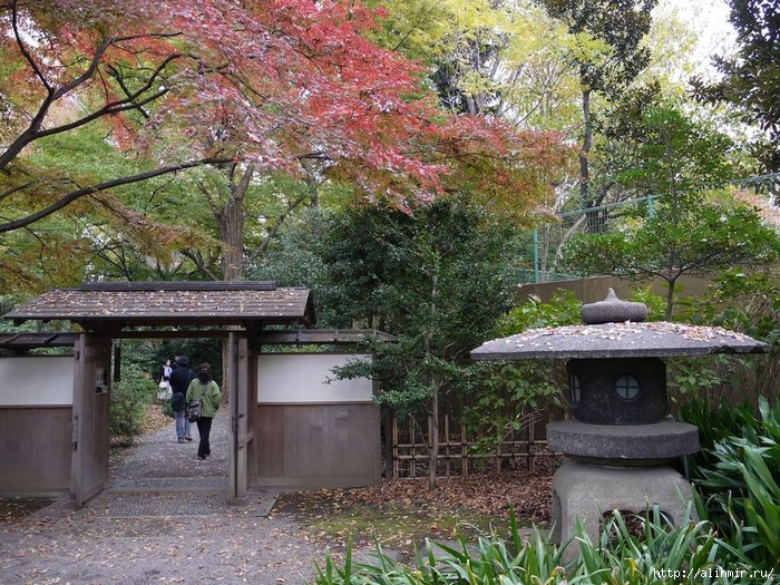 Сад Рикугиэн Rikugien garden (яп. 六義園 Рикугиэн) 18 (700x525, 430Kb)