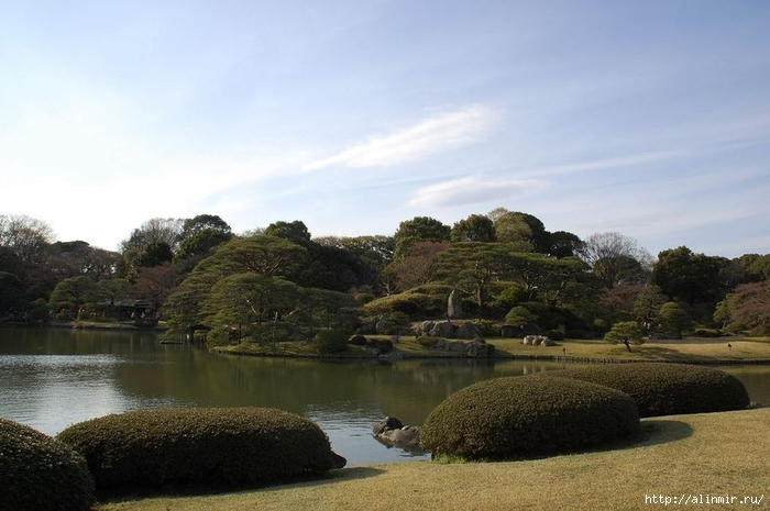 Сад Рикугиэн Rikugien garden (яп. 六義園 Рикугиэн) 14 (700x465, 201Kb)