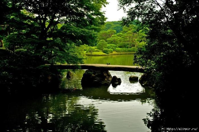 Сад Рикугиэн Rikugien garden (яп. 六義園 Рикугиэн) 11 (700x464, 282Kb)