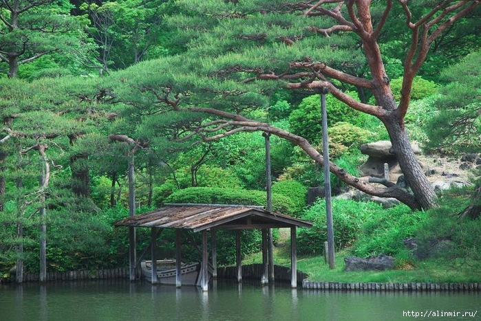 Сад Рикугиэн Rikugien garden (яп. 六義園 Рикугиэн) 4 (700x467, 364Kb)