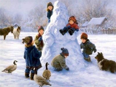 снеговик (400x300, 21Kb)