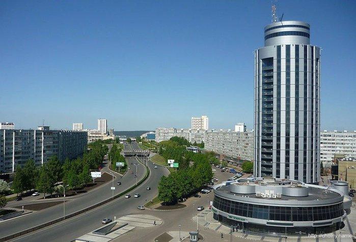 Бизнес-Центр «2.18», называемый в народе «Тюбетейка» (700x477, 75Kb)