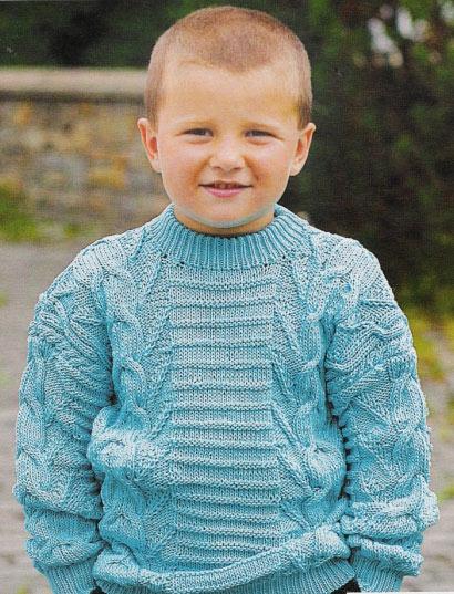 вязание модели свитер на