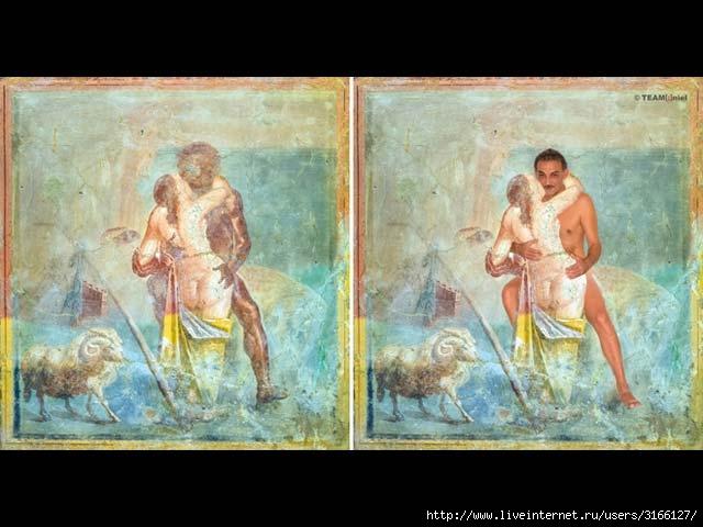 эротические фрески помпей фото и комментарии-рл1