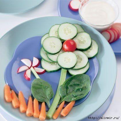 блюда украшения овощной цветочек (420x420, 87Kb)