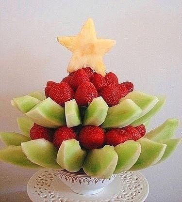 блюда украшения фруктовая пирамидка (375x417, 82Kb)