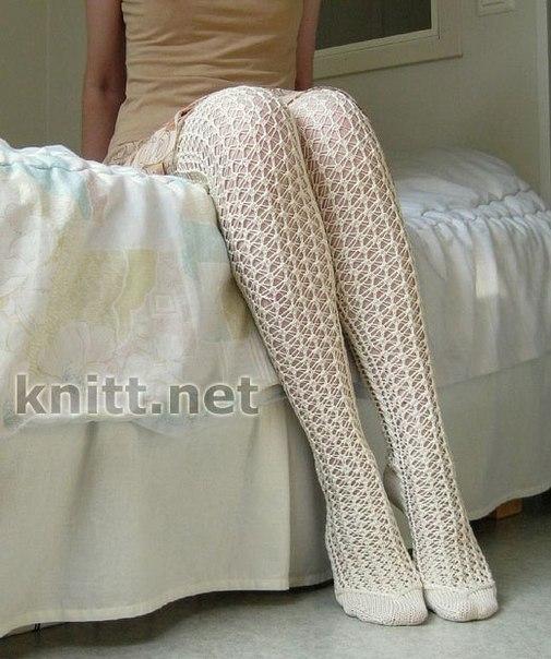 Итак, вязание носков для