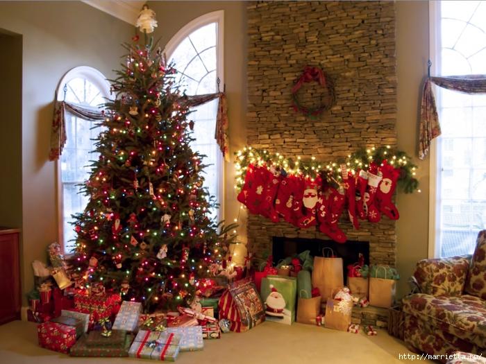 Рождественские звездочки из бумаги. Подвески для елочки (13) (700x525, 330Kb)