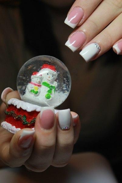 Год 2014 фото маникюр новогодний 2014