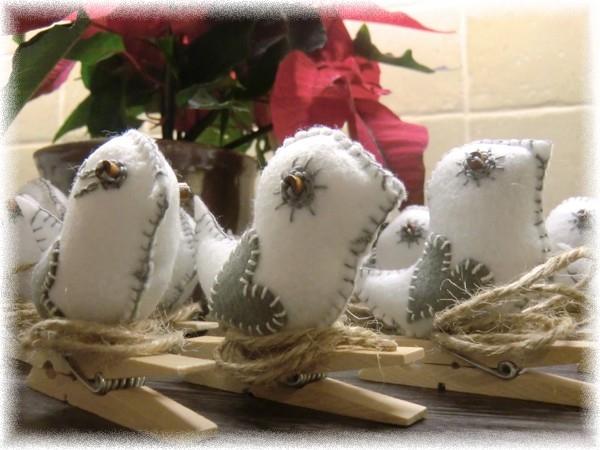 Поделки из фетра. Птички на прищепках (10) (600x450, 177Kb)