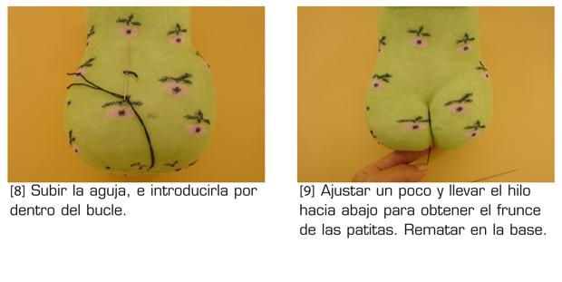 Игрушки из носка. ЖАБА (6) (620x311, 165Kb)
