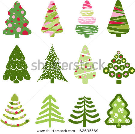 stock-vector-christmas-set-tree-elements-for-design-62695369 (450x445, 61Kb)