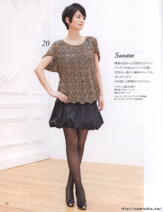 Модели вязаной одежды для женщин