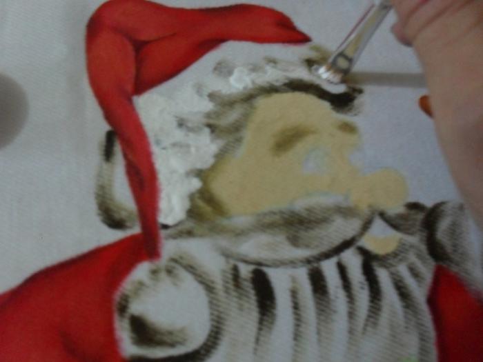 Рождественская роспись по ткани. Санта Клаус, снеговики (36) (700x525, 192Kb)