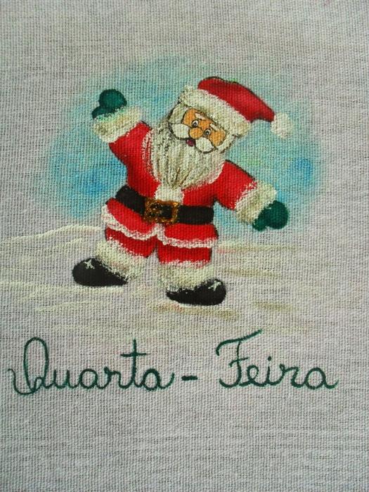 Рождественская роспись по ткани. Санта Клаус, снеговики (61) (525x700, 362Kb)