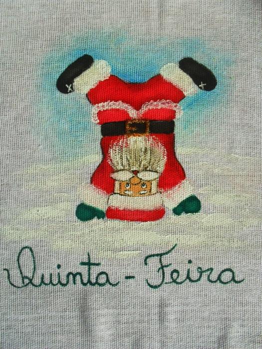 Рождественская роспись по ткани. Санта Клаус, снеговики (62) (525x700, 364Kb)