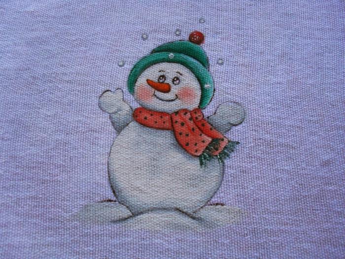 Рождественская роспись по ткани. Санта Клаус, снеговики (76) (700x525, 357Kb)
