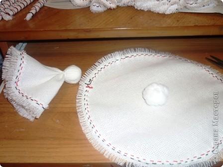 Как сделать ангелочков из ткани своими руками